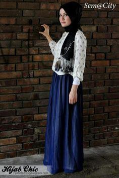 Hijab style by Rabia A. | Hijab Chic