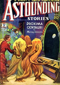 Last week, we talked about how science fiction cover art evolved into the colorful, pulpy art we love today. Now, here's our look at the evolution of cover art from 1930 to 1955, as pulp styles exploded into awesomeness.