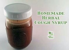 Homemade cough syrup