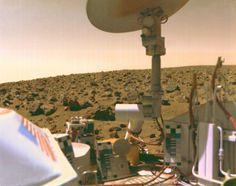 The surface of Mars as seen from the Viking 2 lander. Image Credit: NASA