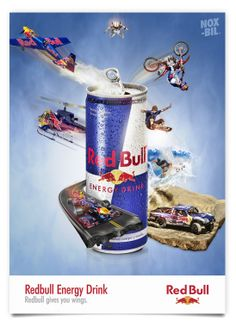 RED BULL by NOXBIL , via Behance