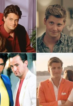 Made in Chelsea New York VS Friends. Could Stevie BE anymore like Chandler?!