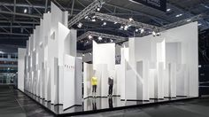 FALKE ESS at Messestand ISPO by Keggenhoff & Partner, Munich exhibit design