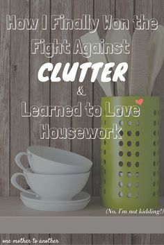 If you're in the clutches of serious clutter, this method will literally change…