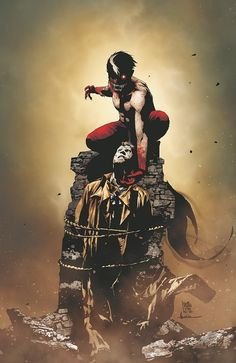 I,Vampire with John Constantine by Andrea Sorrentino