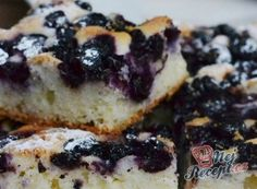 Ovocná bublanina našich babiček | NejRecept.cz Thing 1, Sweet Cakes, Sushi, French Toast, Cheesecake, Goodies, Baking, Breakfast, Ethnic Recipes