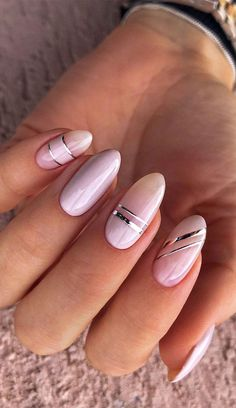 When it comes to your summer new looks. It's not just our wardrobes that change with the seasons, but our nails too. Explore creative... Nail Art Designs, Manicure Nail Designs, Pretty Nail Designs, Pretty Nail Art, Nail Manicure, Gel Nails, Nail Polish, Nagellack Design, Almond Acrylic Nails
