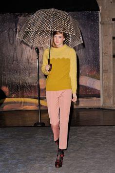 35 photos of Orla Kiely at London Fashion Week Fall 2014.