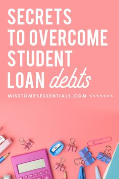 Students loans federal consolidating rates and tbh