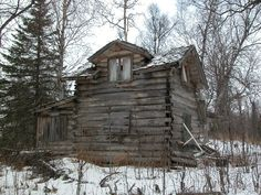 This was an abandoned cabin in Alaska. There were interesting things left behind but who knows who lived here or why they left so much and walked away.