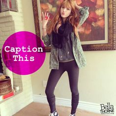 Bella Thorne  Bellatastic outfit and YUMMY ring pop!