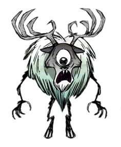 """Deerclops from """"Don't Starve"""""""