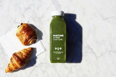 """11.4k Likes, 42 Comments - PANTONE (@pantone) on Instagram: """"Symbolic of nature and good health, this nutrient rich @yumidrinks juice in Green Eyes is a leafy…"""""""