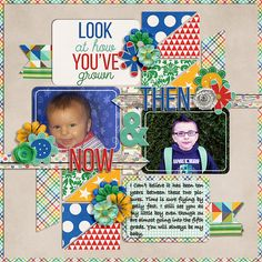 Then & Now by Meghan Mullens Cindy Template 160 by Cindy Schneider