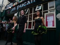An Púcán bar & Gallery Restaurant, Galway.  Locally brewed beers and a full range of Irish food and live traditional Irish music and dancing.