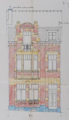 Schaerbeek - Rue Van Hammée 35 - SAUVAGE Alfred