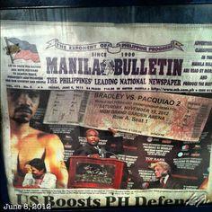もう再戦の話? #fake predicting ticket USD1,200 #paquiao #boxing #philippines #フィリピン #ボクシング #マニーパッキャオ