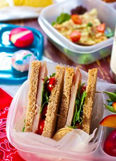 Healthy Lunch Box Ideas