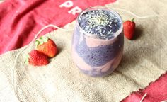 smoothie swirl, power plant whole foods verity nutrition dairy free gluten free smoothie Banana Berry Smoothie, Whole Food Recipes, Healthy Recipes, Holistic Nutritionist, Dairy Free, Gluten Free, Berries, Fruit, Desserts