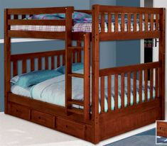 ★ Buy our Discovery World 2815 Merlot Full over Full Bunk Bed for your kids or teen. ★ Solid wood construction gives this bunk bed lasting durability. Free shipping on all of our full bunk beds at ekidsrooms.com.
