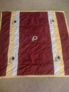 My grandbaby s Redskins quilt to match his dad s 8ebc141e0