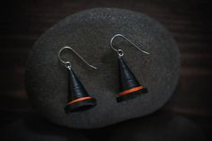 Halloween hat/ Witch hat/ Halloween earrings/ Witch hat