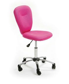 Pezzi Office Chair in Pink PEZZI convinces both in the home office and in hard every-day office life. The sophisticated design demonstrates a class of its own. The anatomically shaped seat and a ba...