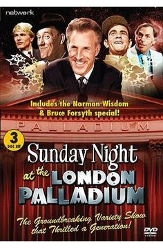 'Sunday Night at the London Palladium'  with the famous carousel - a must every week