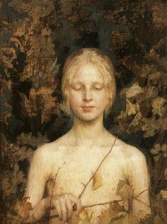 Maria Wiik (Finnish painter) 1853 - 1928 Innocentia, 1900 oil on canvas x cm. Old Paintings, Beautiful Paintings, Classic Artwork, Inspirational Artwork, Portrait Art, Art Google, Figurative Art, New Art, Art History