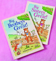 Personalized Big Brothers and Big Sisters Are Great Books