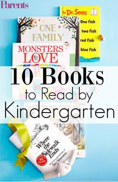 If your child is getting ready for the Big Day, AKA the first day of elementary school, this is the book list for your family. These 10 books are must-reads before your kid starts kindergarten. How many will you cross off your list? 1000 Books Before Kindergarten, Kindergarten Books, Kindergarten Readiness, Preschool Books, School Readiness, Starting Kindergarten, Toddler Learning, Learning Games, Toddler Activities