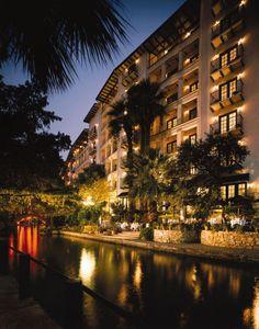 San Antonio, Omni La Mansion del Rio.  Beautiful hotel on the river walk.  Spent several days exploring.