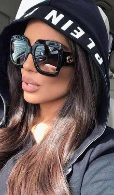 45d8b2cb8 #sunglassesarehot Gucci Sunglasses, Round Face Sunglasses, Sunglasses Shop,  Oversized Sunglasses, Sunglasses