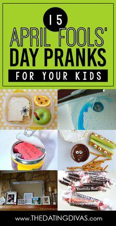 Harmless April Fools' Day Pranks for Kids