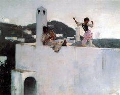 John Singer Sargent, Capri, 1878