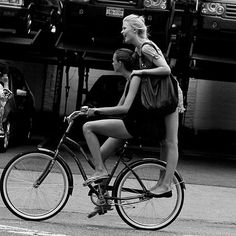 Cycle Chic - Page 7 - Australian Cycling Forums Cycle Chic, Best Friends Forever, My Best Friend, Business Portrait, Bicycle Girl, Bicycle For Two, Bicycle Women, Bike Style, Two Girls