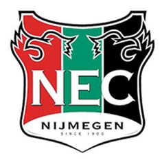 NEDERLAND : NEC (Nijmegen) Football Team Logos, Football Cards, Football Players, Soccer Teams, Holland, Sports Clubs, Uefa Champions League, Sports Logo, Netherlands