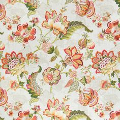 The G2558 Tigerlily upholstery fabric by KOVI Fabrics features Floral pattern and Orange as its colors. It is a Linen, Made in USA, Print type of upholstery fabric and it is made of 55% Linen, 45% Rayon material. It is rated Exceeds 15,000 double rubs (heavy duty) which makes this upholstery fabric ideal for residential, commercial and hospitality upholstery projects.For help please call 800-860-3105.