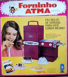 Brinquedo Antigo Mini Forninho Atma  decada 70