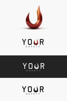 YOUR SAFETY #Logo, #3D, #Identity, #Safety, #Shiny