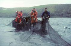 Fishermen off he coast of Newfoundland