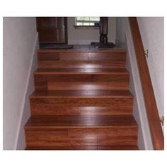 Carpeted Stairs to Wood Stairs | Install Hardwood On Stairs - Steps - Replace Carpet Costs