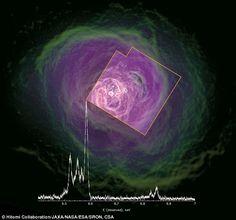 Portal? Antes de ser tragado por buraco negro satellite Japonês enviou esta última foto que está a assombrar os cientistas... ~ Sempre Questione