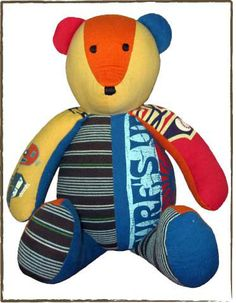 .Memory Clothes Bear – The Patchwork Bear