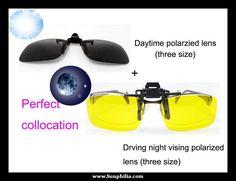 Clip On Sunglasses, Lens, Klance, Lentils