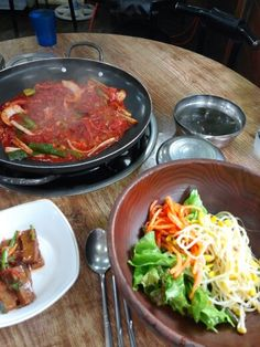 Korean lunch time in normal