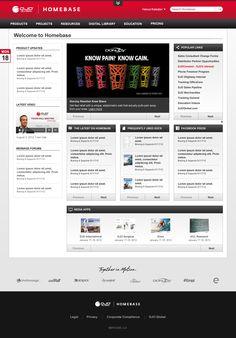 DJO Global's SharePoint website designed using Prime