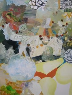 Josette Urso, Papaya , 2015,oil on canvas 48 x 36 inches,$6500
