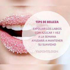 Tips de #belleza para unos labios sanos y suaves #YaPonteBella