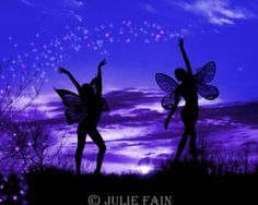 Fairies World, Fairy & Fantasy Art Gallery - Julie Fain/Fairy Dusters©
